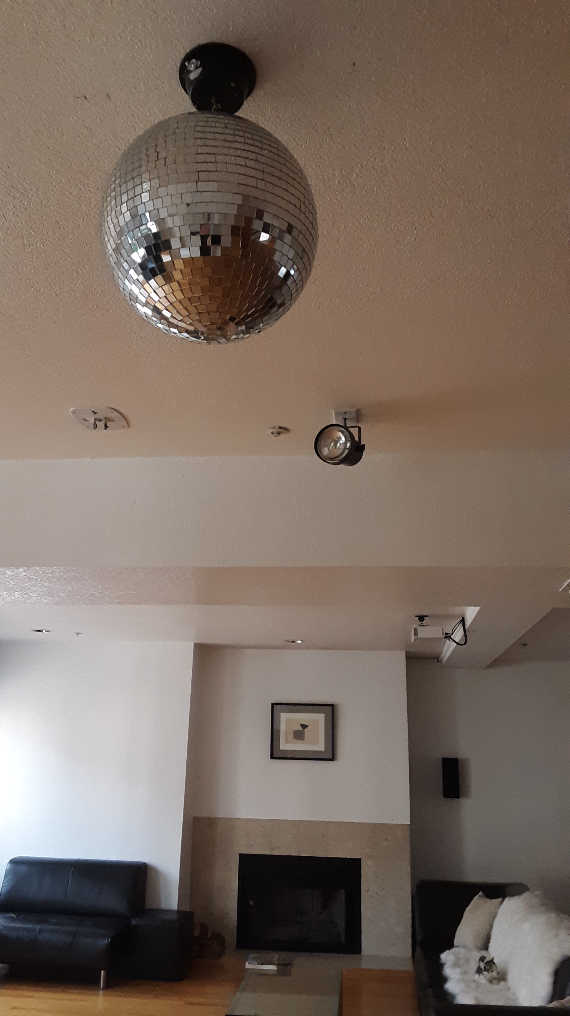 Turn on the disco ball and dance